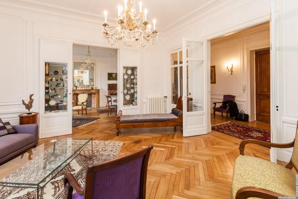 wonderful renovation appartement haussmannien kp33 humatraffin. Black Bedroom Furniture Sets. Home Design Ideas