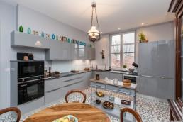 Rénovation d'une cuisine dans une appartement Haussmannien à Toulouse.