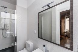 Rénovation de la salle de bain d'un appartement Haussmannien à Toulouse.