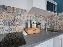 Rénovation de la cuisine d'un appartement à Toulouse.