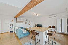 Rénovation du salon d'un appartement à Toulouse