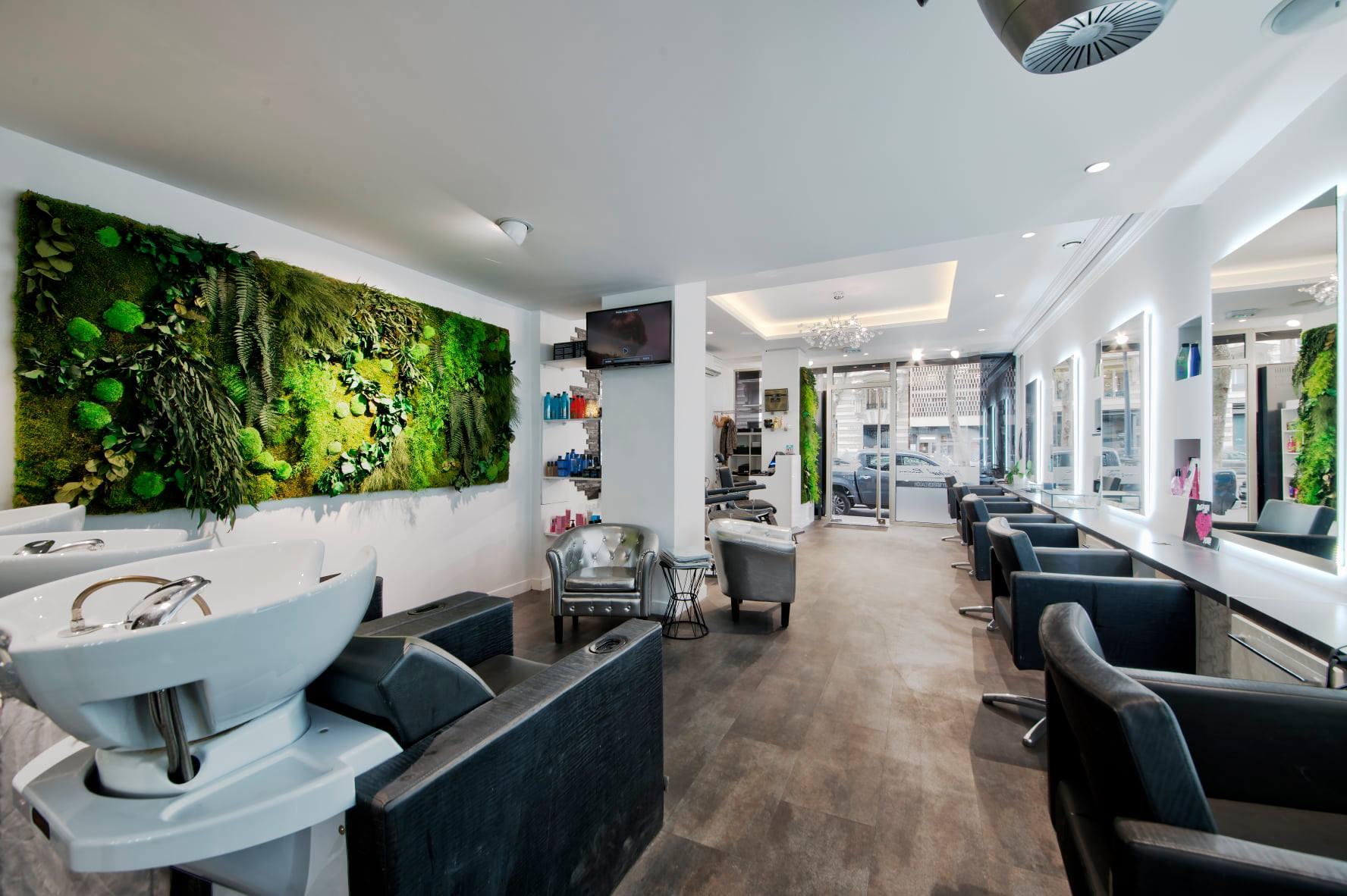 Comment Disposer Des Spots Dans Un Salon rénovation de ce salon de coiffure toulousain : défi relevé